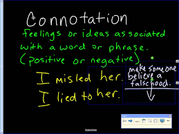 connotation vs denotation youtube