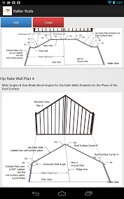 Hip Roof Design Calculator by Roof Framing Geometry Hip Rake Walls Rotated Into The Roof Surface