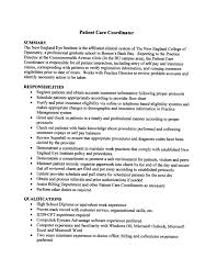 skill exle for resume 2 care coordinator resume resume sle