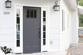 Exterior Replacement Door Fixer Sources The Wood Grain Cottage Makeover By Fiberglass