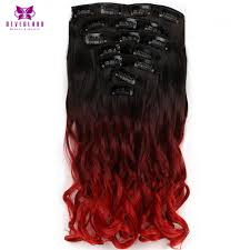 Long Synthetic Hair Extensions by Compare Prices On Red Synthetic Hair Extensions Online Shopping