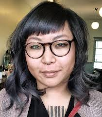 short hairstyles with glasses and bangs 40 refreshing variations of bangs for round faces