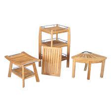 Patio Furniture Palo Alto Teak Shower Stools Bluesky Furnishings Custom Teak Furniture