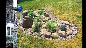 garden ideas rock garden images youtube
