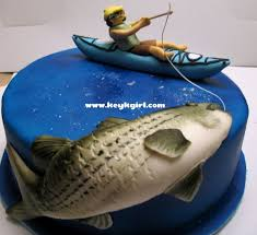 12 best cakes images on pinterest fishing cakes birthday ideas