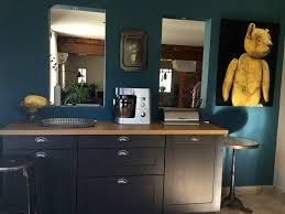 cuisine bleu petrole cuisine bleu petrole beau indogate décoration d intérieur