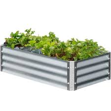 Making A Raised Bed Garden From Roof Panels Corrugated Metal Raised Garden Plans Galvanized Steel Beds Center