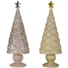buy the metallic tabletop christmas tree by ashland at michaels