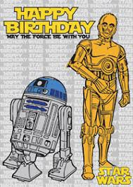 star wars birthday cards c3po and r2d2 print for free star