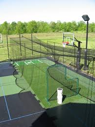 home decor awesome backyard batting cages driving