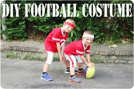 Halloween Costumes Football Player Boy Diy Football Costume Halloween Sew Savory