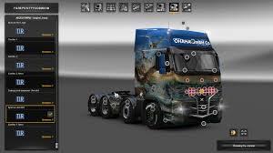 logo volvo trucks volvo fh16 2009t euro truck simulator 2 mods