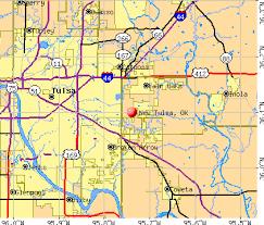 map of tulsa tulsa oklahoma ok 74014 profile population maps