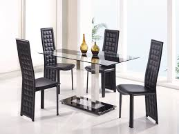 kitchen chairs remarkable acrylic dining set white