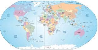 China On A World Map by Eworldmap Au Pair China