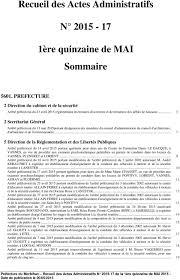 Annexe Iii Modèle D Arrêté Emportant Blâme Les Recueil Des Actes Administratifs N Pdf
