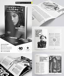 Magazine Cover Page Template Psd by 20 Magazine Templates With Creative Print Layout Designs