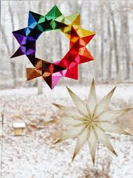 10 waldorf winter crafts for kids craft learn and play