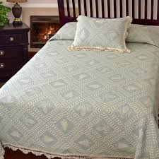 evergreen bedspread bates mill store
