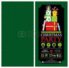 christmas party invitation card sets royalty free cliparts