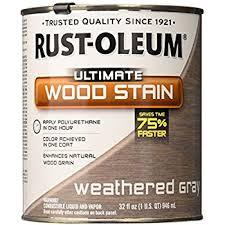 Interior Wood Stain Colors Rust Oleum 260368 Ultimate Wood Stain Half Pint Sunbleached