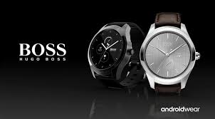 the hugo boss touch is a classy formal smartwatch for professionals