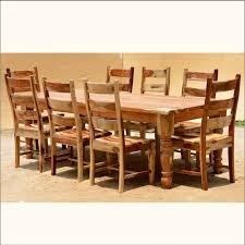 Rustic Dining Room Furniture Sets - solid wood dining room tables and chairs interior design