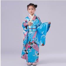 fashionable japanese kimono dress children yukata kid