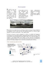 chambre de commerce espagnole en le marché ferroviaire en espagne 2013 chambre franco espagnole de c