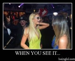Paris Hilton Meme - paris hilton photobomber beinglol com