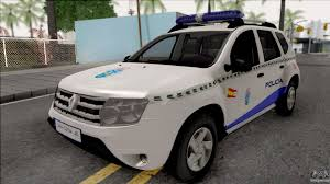 renault cars duster renault duster spanish police for gta san andreas
