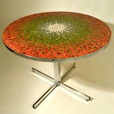 mosaic dining room table