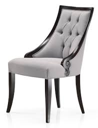 Italian Leather Dining Chair Upholstered Dining Chair Modern Upholstered Dining Chair Curved