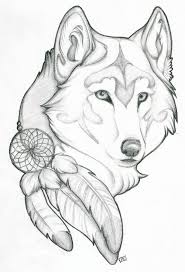wolf pinteres