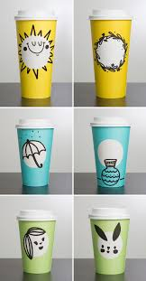 starbucks unveils new spring themed cups in three fun colors