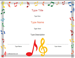music certificate template exol gbabogados co