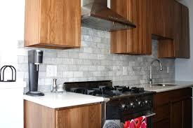 gray glass tile kitchen backsplash kitchen grey copper tiles grey