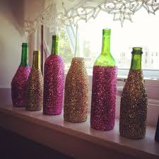 how to decorate a wine bottle for a gift glitter glass wine bottles decorative wine bottles wine ideas