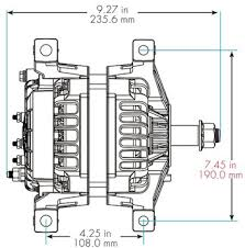 alternators by model family delco remy