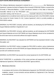 it support contract template here is preview of another