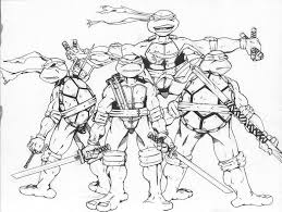tmnt coloring pages games u2014 fitfru style