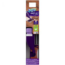 swiffer jet wood floor mop starter kit 11 pc