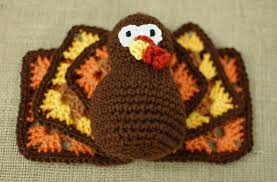 thanksgiving turkey crochet pattern petals to picots