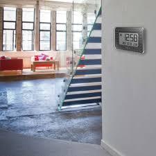 oregon scientific us glaze digital wall clock black prev