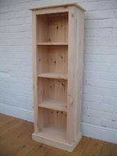 Skinny Tall Bookshelf Narrow Bookcase Ebay