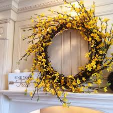 forsythia wreath grand forsythia wreath robertson