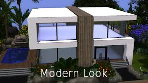 the sims 3 house building modern look hd youtube