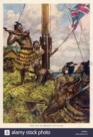 Colonial British Flag New Zealand Maori U0027rebel U0027 Honi Heke Defies Colonial Rule By