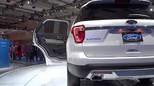 Ford Explorer Platinum - 2016 ford explorer platinum edition exterior walkaround youtube