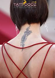 the 25 best neck tattoos for women ideas on pinterest small